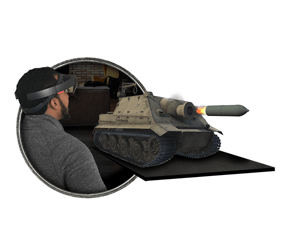Halolens and Sturmtiger Tank